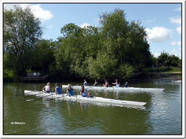 rowing skiffs at oxford