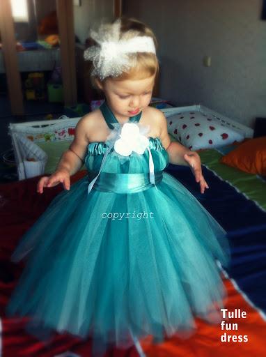 Платье из фатина на выпускной в детский сад своими руками 76