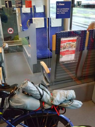 commuter train to Heidelberg