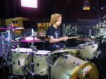 Aden likes to practice drums along to Chris Young's soundcheck