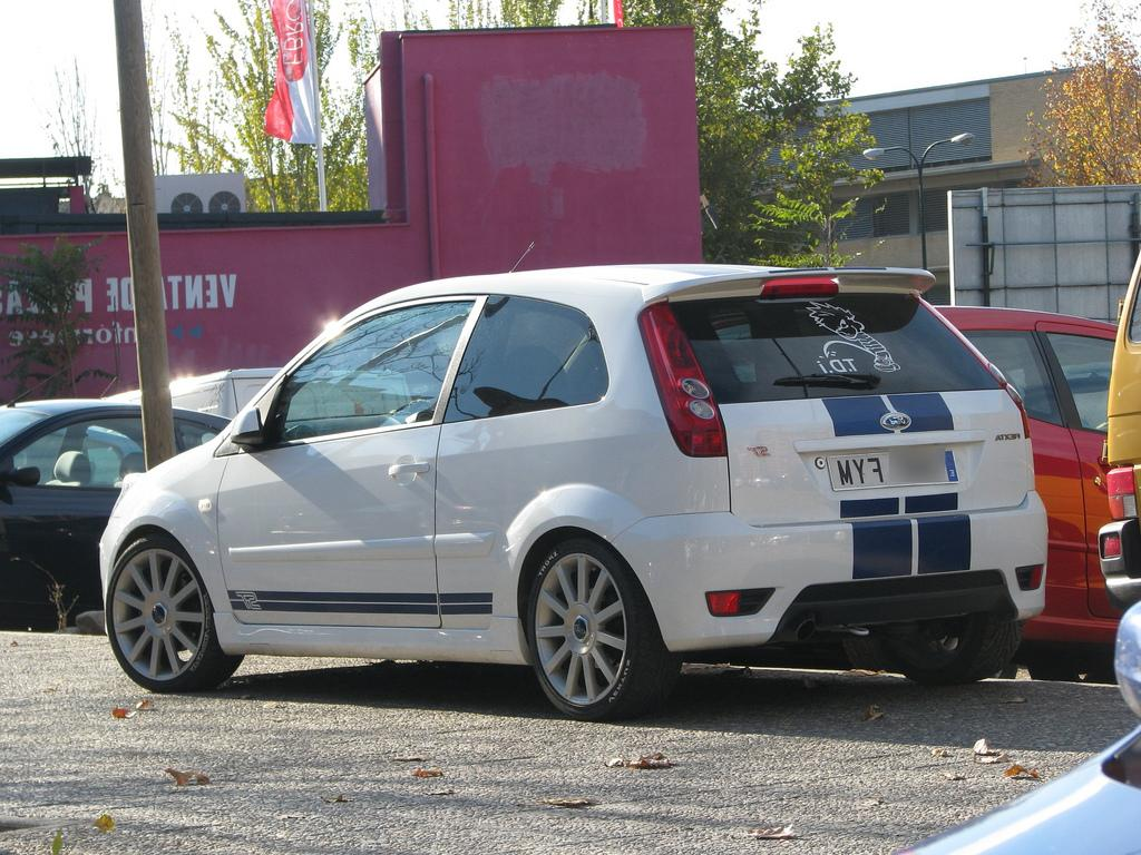 2008 Ford Fiesta Mk6 ST