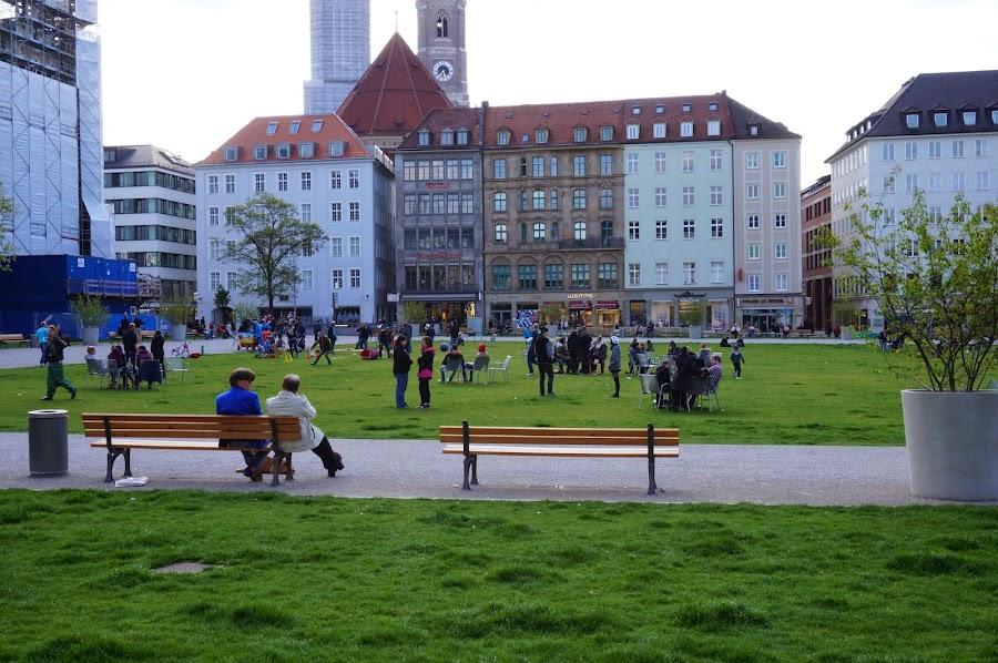 Парк в Мюнхене