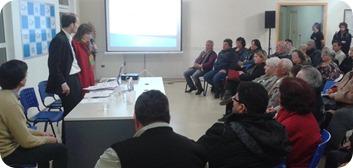 la charla estuvo a cargo de la abogada Agustina Alem y el escribano Manuel Carracajo
