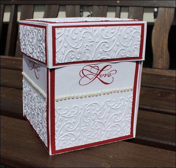 Explosion Box Love Wedding Hochzeit Cake  002