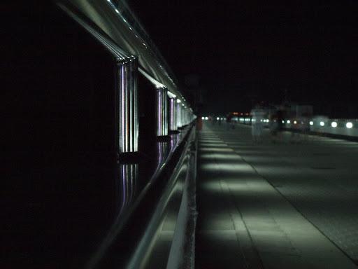 Tama nocą Solina