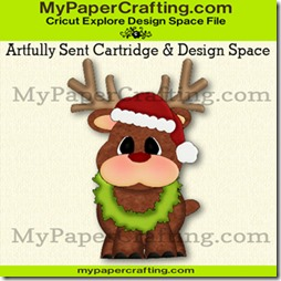 artfully sent reindeer piecing-ppr-325