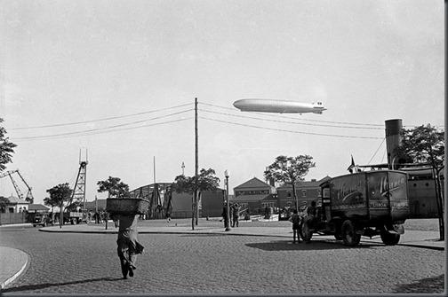 1936 Dirigível Graf Zeppelin