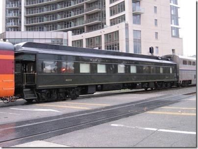 IMG_9884 Missouri-Kansas-Texas Business Car #403 at Union Station in Portland, Oregon on October 22, 2009
