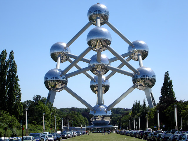 the atomium in brussels belgium in Brussels, Brussels, Belgium