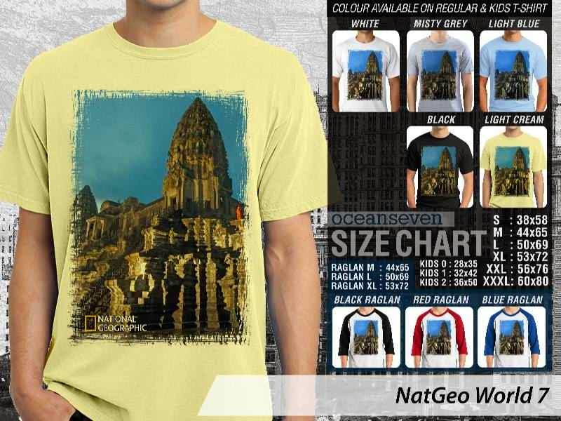 Kaos National Geographic NatGeo World 7 distro ocean seven