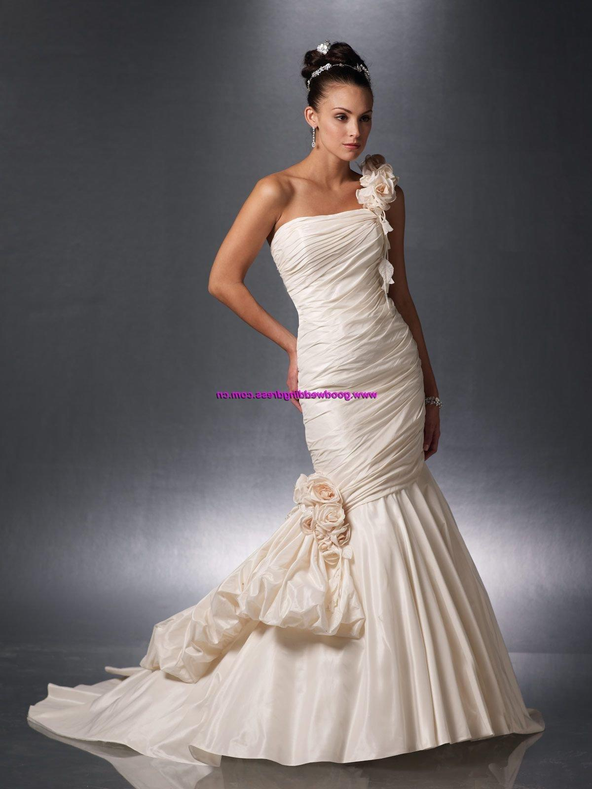 One Shouldered Wedding Dresses