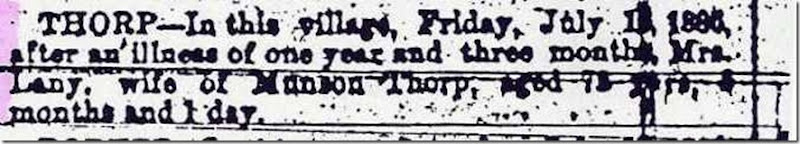 THORP_Lany_Obituary_24 Jul 1886_SkaneatelesPress_New York_cropped