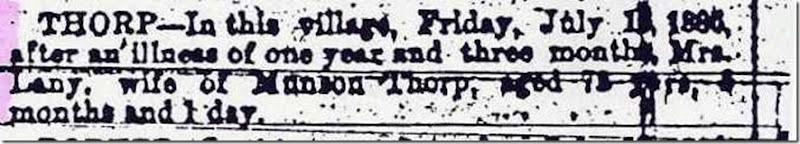 THORP_Lany_Obituary_24 Jul 1886_SkaneatelesPress_New York_cropped