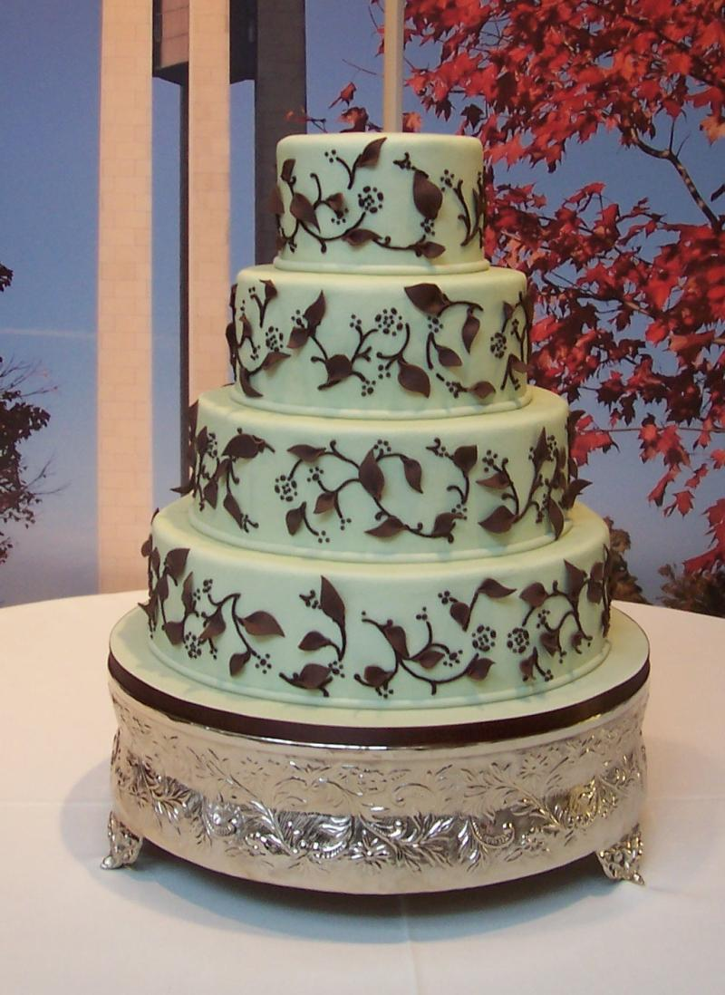 Fondant Wedding Cake Gallery