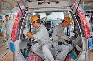 Elle installera une usine de véhicules utilitaires, La Chine cible l'industrie automobile