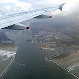 arrival in Holland in IJmuiden, Noord Holland, Netherlands
