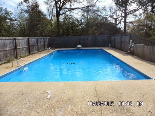 Large Swimming Pool with Diving Board