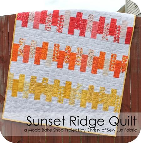 Sunset Ridge quilt