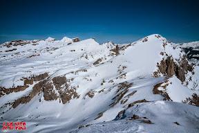 Gran panorámica desde el Chinebral de Gamueta. © aunpasodelacima