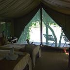 Kanga Camp, Zelt innen © Foto: Ulrike Pârvu | Outback Africa Erlebnisreisen