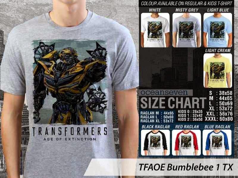 KAOS film Transformers Bumblebee 1 Transformers Age of Extinction distro ocean seven