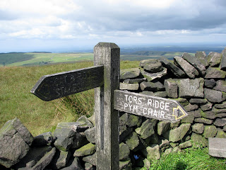 Sign at Shining Tor