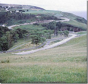 Hairpin bends at Berriedale