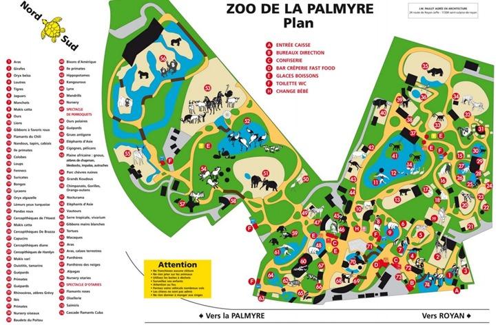 La Palmyre plan