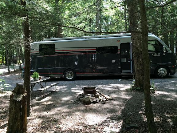 Site #9 at Rip van Winkle Campground