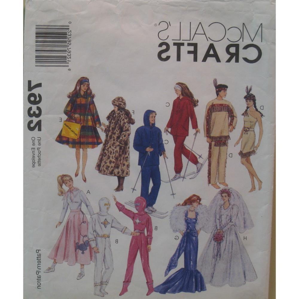 Fashion Doll Clothes Pattern,