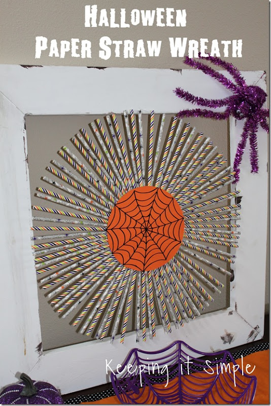 Halloween-decor-idea-paper-straw-wreath