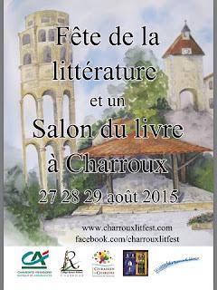 French Village Diaries Charroux Literary Festival 2015 Vienne Poitou-Charentes