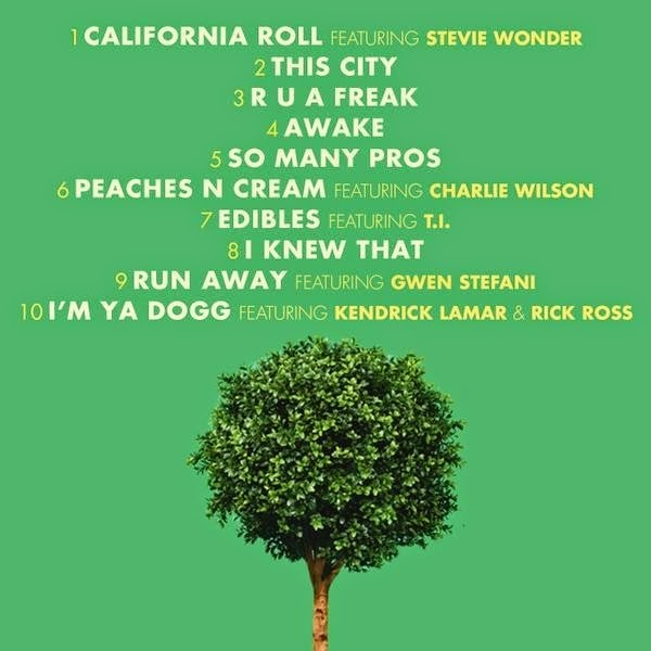snoop-dogg-bush-tracklist