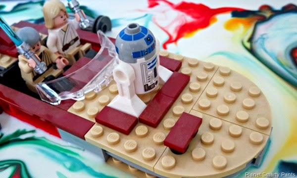 Creat Star Wars Landscapes with things in your pantry