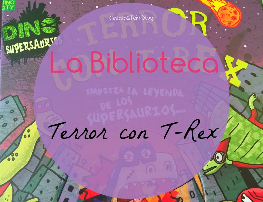 biblioteca-terror-tRex-comic-niños-parragon