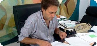 Facundo Nores, secretario de Desarrollo Social de la Municipalidad de La Costa