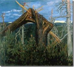 Akseli-Gallen-Kallela-xx-The-Broken-Pine-xx-Private-Collection