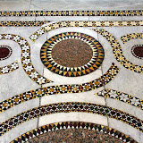 Intricate Mosaic Work Throughout The Duomo - Monreale, Italy