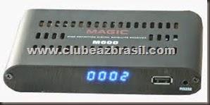 TOCOMFREE MAGIC M600 NOVA ATUALIZAÇÃO