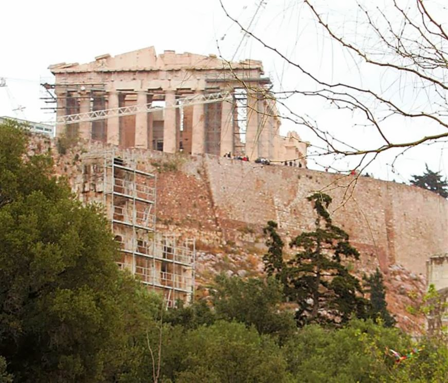 More Stuff: Plan to repair southern Acropolis wall gets green light