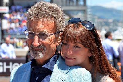 Эдди Джордан и очаровательная Сьюзи Перри на Гран-при Монако 2013