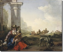 italian-peasants-among-ruins-jan-weenix