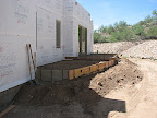 Back patios - backfill 8/7
