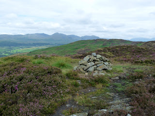 The summit cairn of Stang Hill ... my first Birkett of the day ... and second Outlying Wainwright. My next target was Arnsbarrow Hill which can be seen straight ahead