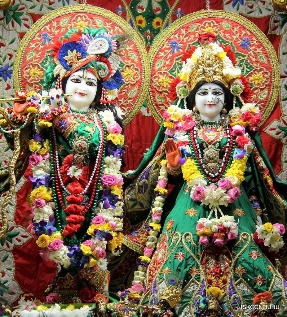 ISKCON Juhu Sringar Deity Darshan 09 Feb 16 (1)