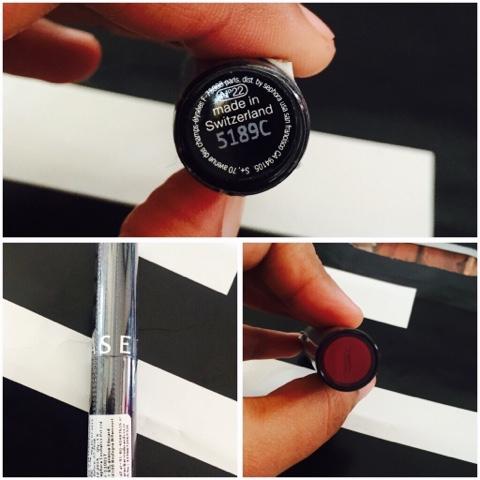Sephora N22 burgundy spirit
