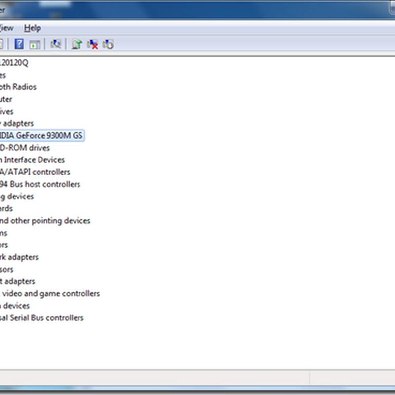 nvidia geforce 9300m gs driver download windows 7