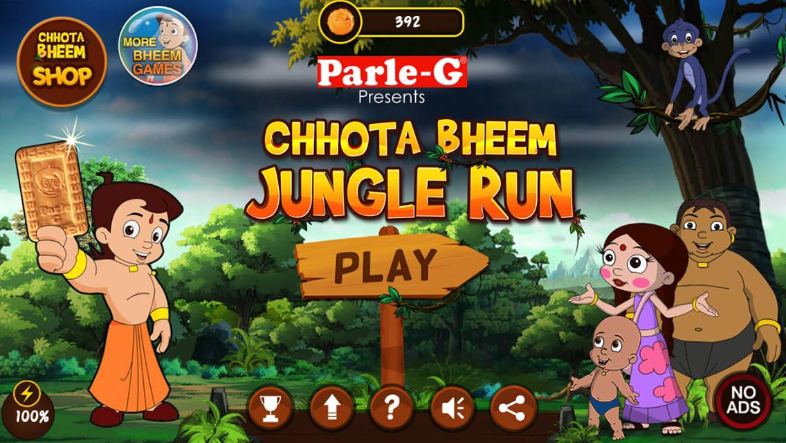Chhota Bheem Jungle Run Screenshot