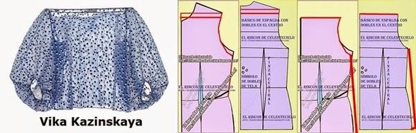El Rincon De Celestecielo: Cómo trazar patrones para manga larga ...