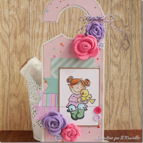 tutorial door hanger - scrapbooking - stamping - big shot - by cafecreativo for il murrillo (0)